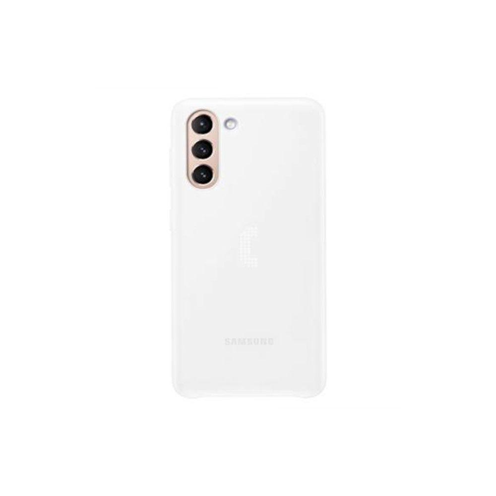 """Slika Samsung Ovitek """"Led Cover"""" Za Galaxy S21 - Bel"""