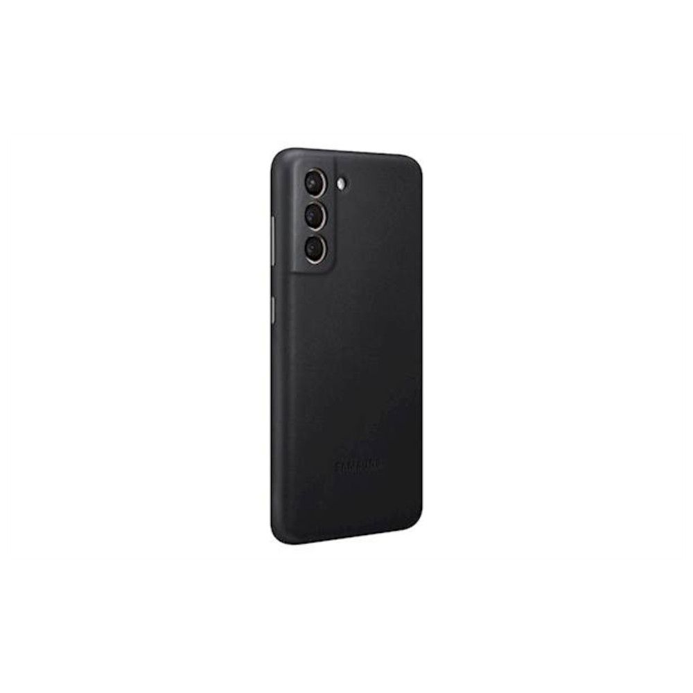 "Slika Samsung Usnjen Ovitek ""Leather Cover"" Za Galaxy S21+ - Črn"