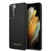 "Slika Originalen Trden Ovitek Guess Za Samsung Galaxy S21 Ultra ""Črn Iridescent"""