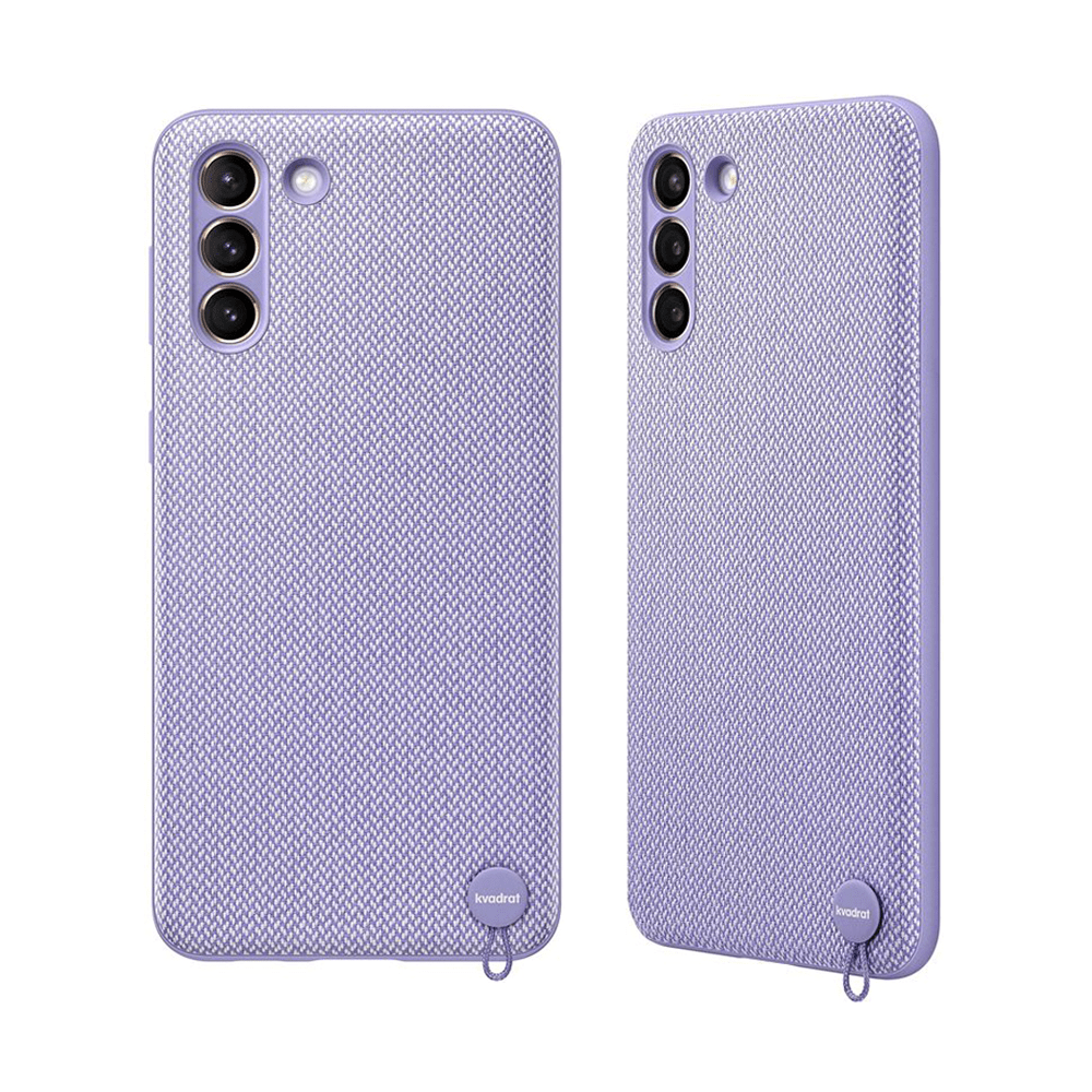 "Slika Samsung Ovitek ""Kvadrat"" Za Galaxy S21+ - Sivo Vijoličen"