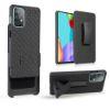 "Slika Silikonski ovitek TPU ""Holster Woven"" za  Samsung Galaxy A52/A52 5G/A52s 5G - Črn"