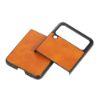 "Slika Silikonski ovitek TPU ""ShookProof"" za Samsung Galaxy Z Flip3 - Oranžen"