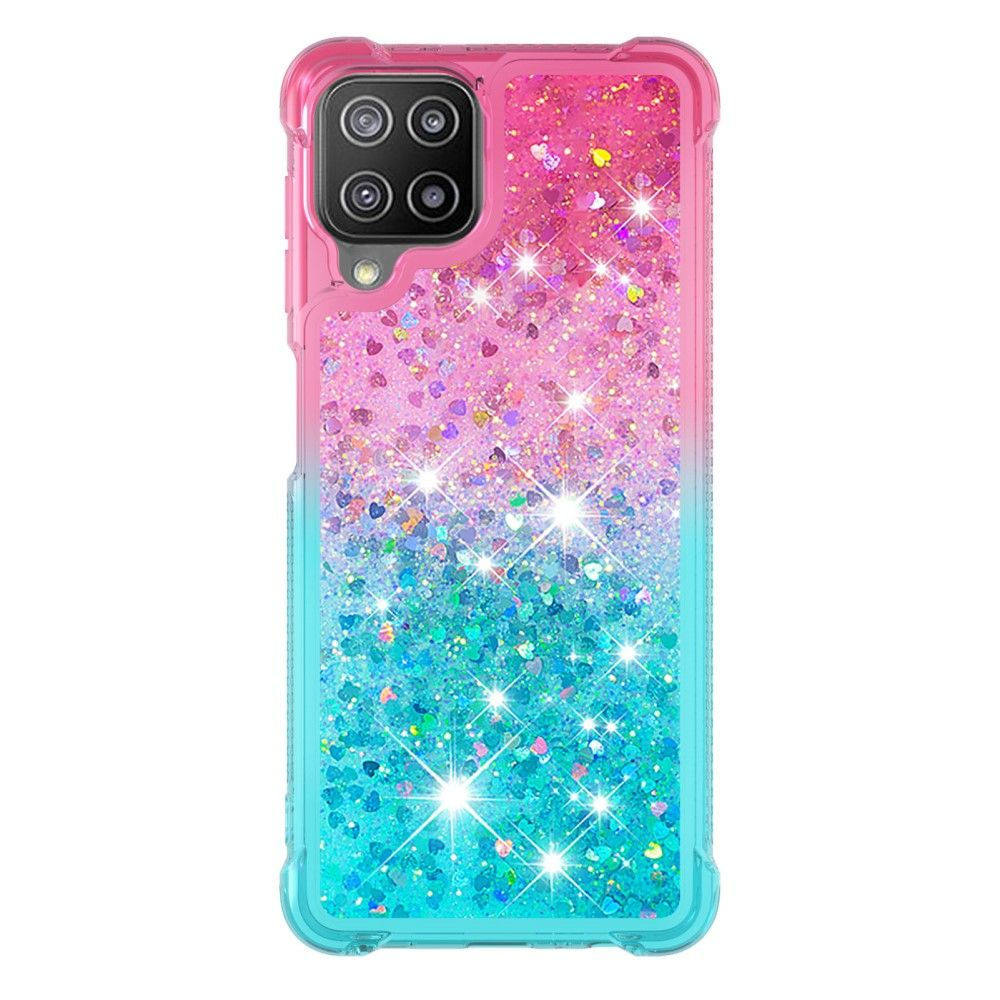 """Slika Silikonski ovitek TPU """"Pink Sky Blue Quicksand"""" za Samsung Galaxy A22 4G"""