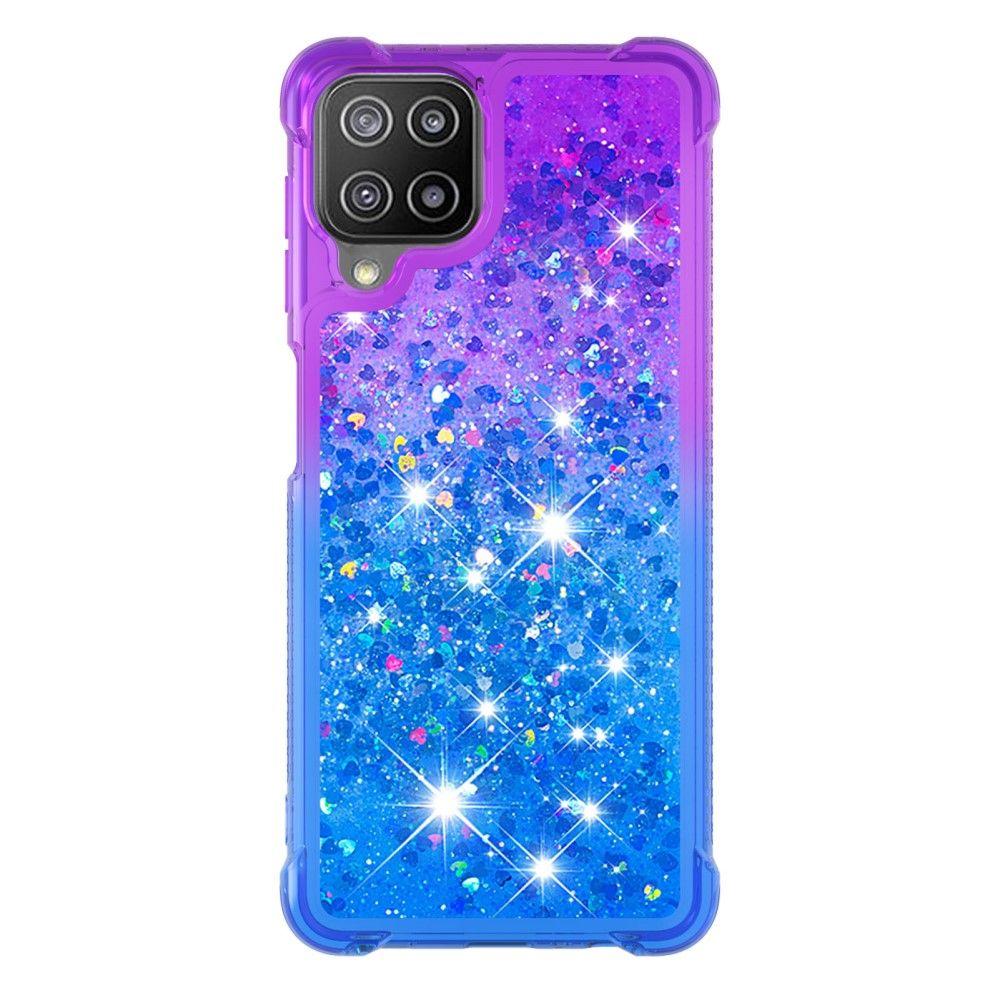 """Slika Silikonski ovitek TPU """"Purple Blue Quicksand"""" za Samsung Galaxy A22 4G"""